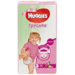 Трусики HUGGIES для девочек 6 (16-22кг), 44 шт.