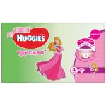 Трусики HUGGIES Disney Box для девочек 4 (9-14кг), 104 шт.