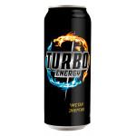 Энергетический напиток TURBO, жестяная банка 0,45 л