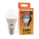 Лампа СТАРТ LED 15W E27 холодный свет