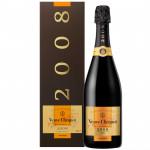 Шампанское VEUVE CLICQUOT Vintage Brut 0,75 л в подарочной упаковке
