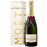 Шампанское MOЁT&CHANDON Brut Imperial 0,75 л в подарочной упаковке
