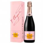 Шампанское VEUVE CLICQUOT Brut Rose 0,75 л в подарочной упаковке