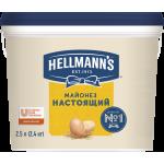 Майонез настоящий HELLMANN'S 78%, 2,5л