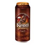 Пиво VELKOPOPOVICKY KOZEL Cerny Темное в железной банке, 0,45 л