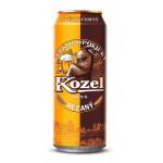 Пиво VELKOPOPOVICKY KOZEL железная банка, 0,45 л