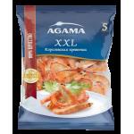 Королевская креветка AGAMA №5 очищенная с хвостом, 700 г