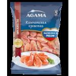 Креветки камчатские AGAMA 35/45 варено-мороженые, 800г