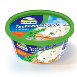 Сыр HOCHLAND творожный с зеленью, 220г
