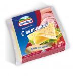 Сыр плавленый HOCHLAND тостовый с ветчиной, 150 г