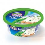 Сыр творожный HOCHLAND с зеленью, 140г