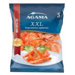 Королевская креветка AGAMA № 5 очищенная с хвостом, 700 г