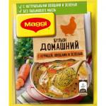 МАГГИ® Домашний. Бульон с курицей, овощами и зеленью, в порошке 100 г