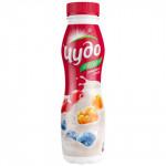 Йогурт питьевой ЧУДО ягодный 2,4%, 270 г