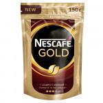 NESCAFÉ® Gold, кофе растворимый, 150г, пакет