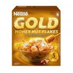 Готовый завтрак NESTLE GOLD Honey Nut Flakes, 300 г