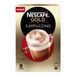 Кофейный напиток NESCAFE Gold Cappuccino Chocolate растворимый, 8х17г