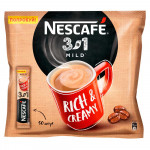 Напиток кофейный растворимый  NESCAFE 3в1 мягкий, 50x16г