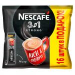 NESCAFE 3в1 Крепкий. Напиток кофейный растворимый