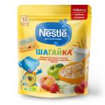 Nestlé® ШАГАЙКА® Каша молочная 5 злаков яблоко, земляника садовая, персик (с 12 мес.), 200гр.