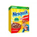 NESQUIK Алфавит. Готовый шоколадный завтрак, обогащенный витаминами и минеральными веществами 375 г