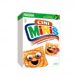Nestle® Cini Minis® Безбашенные квадры Готовый завтрак с корицей коробка 375 грамм