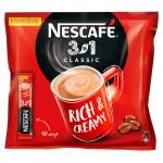 Напиток кофейный быстрорастворимый NESCAFE 3в1 классический, 50x16г