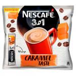 Кофе 3 в 1 Карамель NESCAFE, 50х16 г