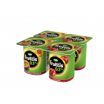 Йогуртовый продукт FRUTTIS Персик маракуйя вишня 0,1%, 110 г