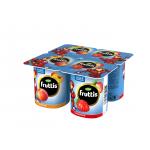 Йогуртовый продукт FRUTTIS Marvel персик и клубника, 110г