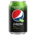 Газированный напиток PEPSI Лайм 0,33 л
