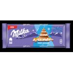 Шоколадка MILKA йогурт рисовые шарики нг 300 г