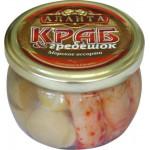 Мясо КРАБА И ГРЕБЕШКА 250 г