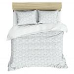 Комплект постельного белья TDL TEXTILE Аура ранфорс, 1,5-спальный