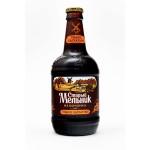 Пивной напиток СТАРЫЙ МЕЛЬНИК Из бочонка бархатное в стеклянной бутылке, 0,45 л