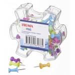 Кнопки цветные SIGMA, 30 мм, 50 шт.