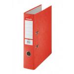 Папка-регистратор Rainbow ESSELTE, красная, 75 мм