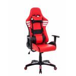 Кресло гоночное SA-R-8, красное