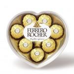 Конфеты FERRERO ROCHER Сердце, 100г