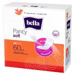 Ежедневные прокладки BELLA Panty Soft, 50+10 шт