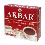 Чай черный AKBAR Mountain Fresh пакетированный в упаковке, 100х2г