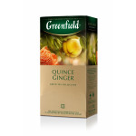 Чай GREENFIELD Quince Ginger, 25 п