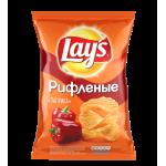 Чипсы ЛЕЙЗ Рифленые, паприка, 150 г