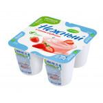 Йогурт НЕЖНЫЙ с соком клубники 1,2%, 100г