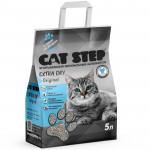 Наполнитель впитывающий минеральный CAT STEP Extra Dry Original, 5 л