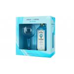 Джин BOMBAY SAPPHIRE Dry + бокал в подарочной упаковке 0,7 л