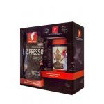 Набор подарочный JULIUS MEINL №2 Кофе Espresso Wiener Art зерно 1000г + Чайный напиток Camomile 25 пакетиков,, 1100 г