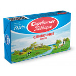 Масло ЭКОМИЛК сливочное 72,5%, 180 г