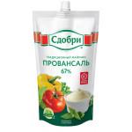 Майонез СДОБРИ Провансаль натуральный 67%, 400 г