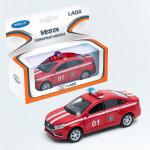 Игрушечные машинки WELLY Модель Lada Vesta, в ассортименте